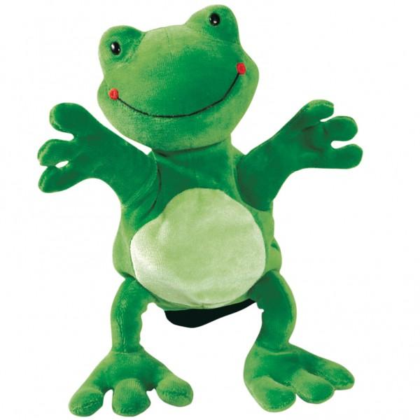 Handschuhpuppe Frosch